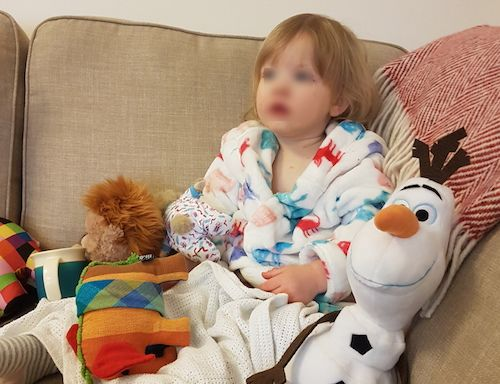 Poorly Watching Peppa